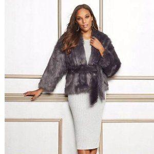 Eva Mendes Faux Fur Coat/Jacket